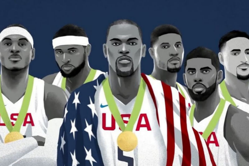 Caricatura del Team USA