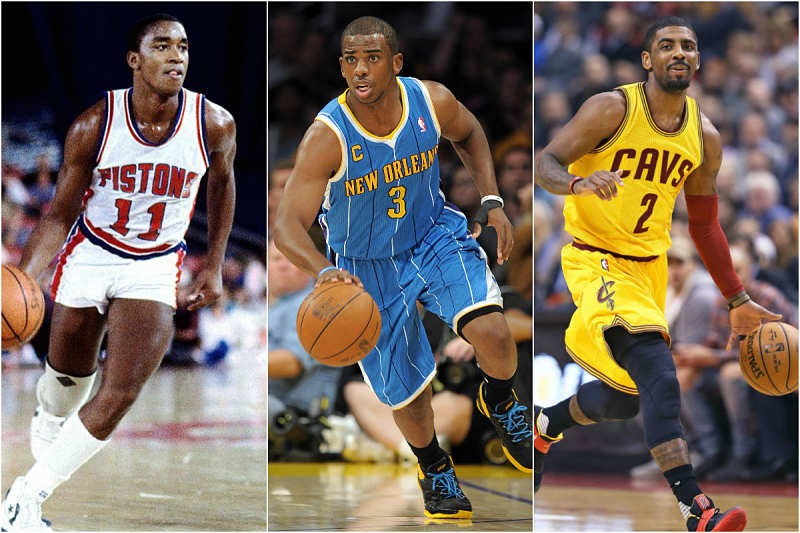 Isiah Thomas, Chris Paul y Kyrie Irving, la evolución del base