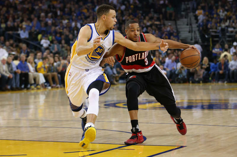 C.J. McCollum, Stephen Curry