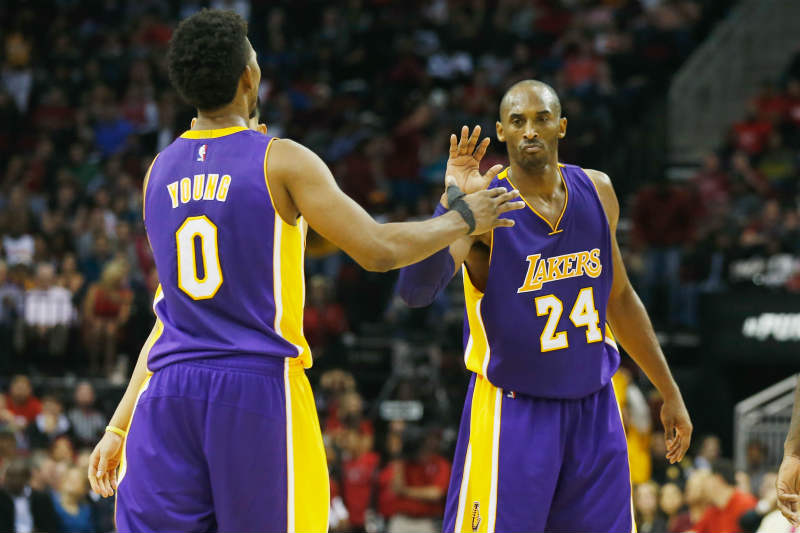 Kobe Bryant, Nick Young