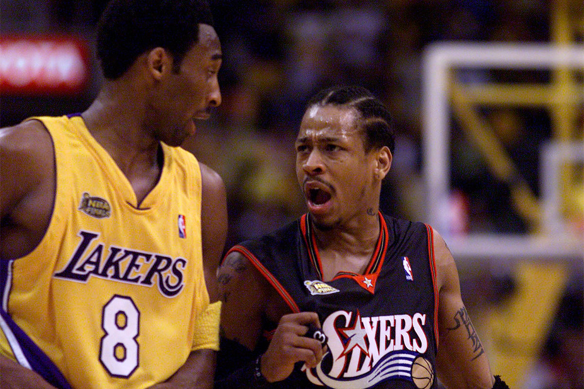 Allen Iverson, Kobe Bryant
