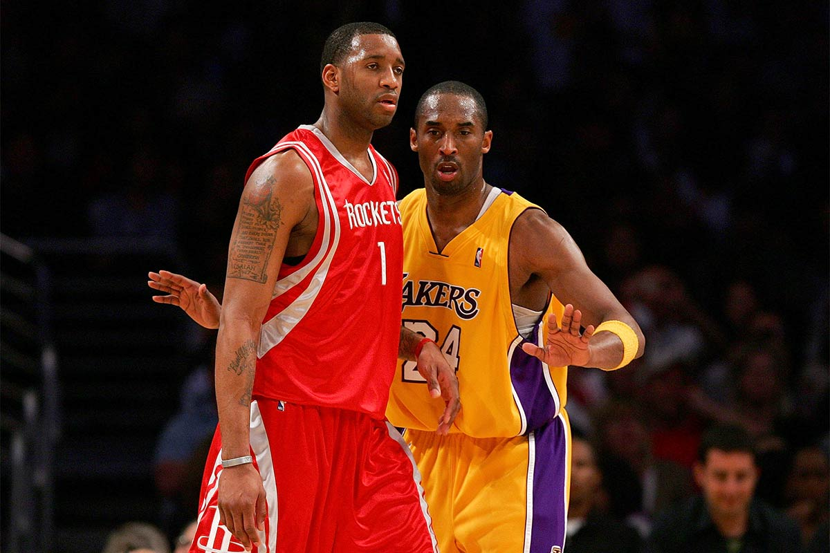 Kobe Bryant y Tracy McGrady
