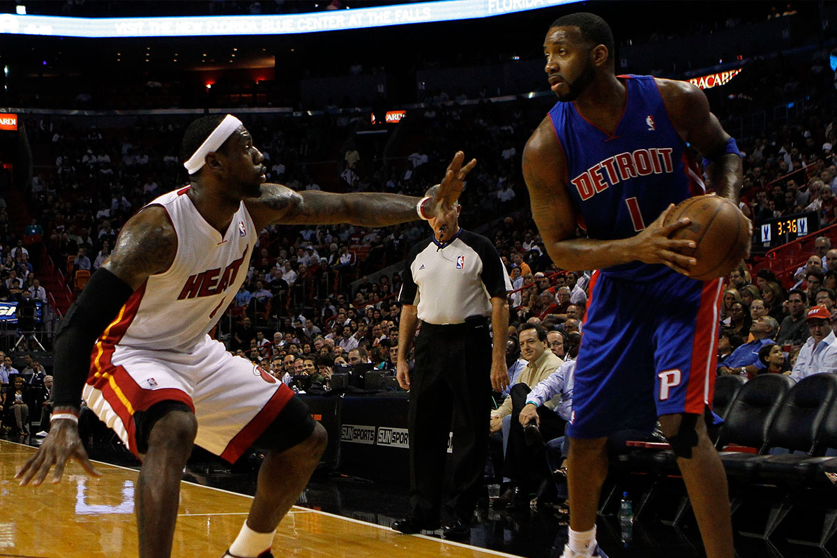 Tracy McGrady, LeBron James