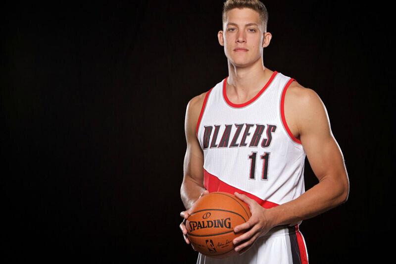 Meyers Leonard, jugador de los Blazers