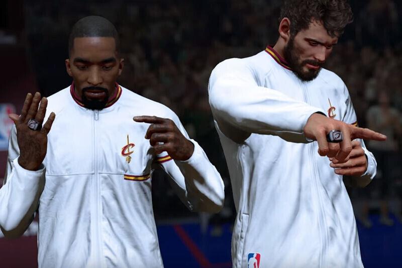 Imágenes del NBA 2K17