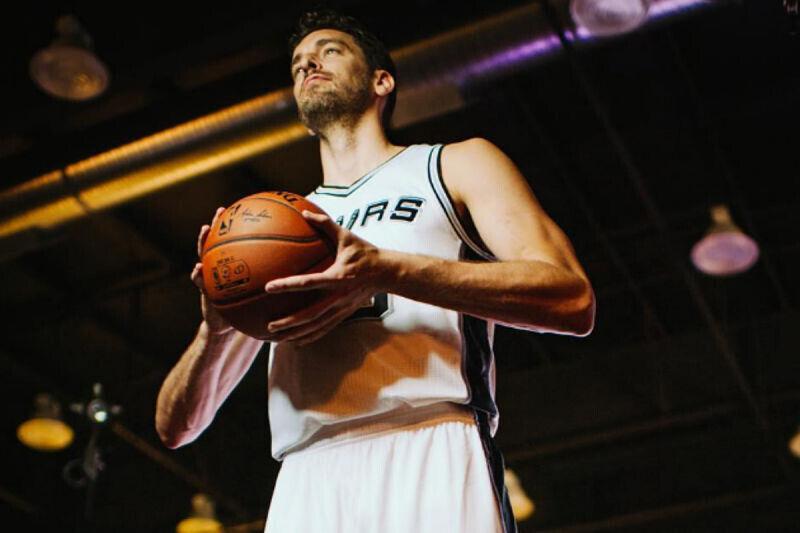 Pau Gasol, jugador de San Antonio Spurs