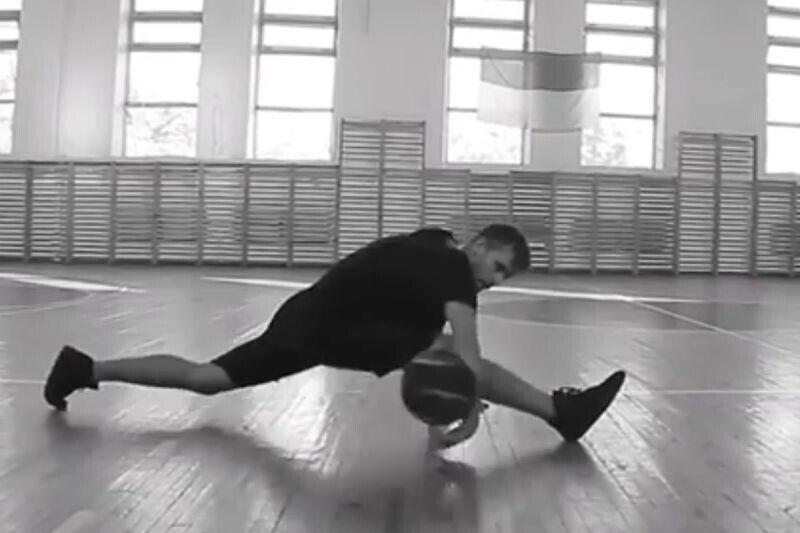 Cuando se mezclan danza y baloncesto