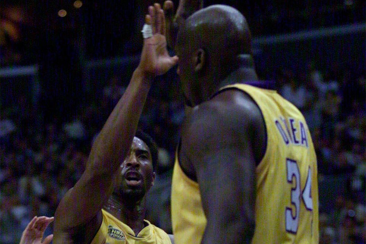 Kobe Bryant Shaquille O'Neil