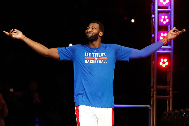 Andre Drummond, jugador de Detroit Pistons