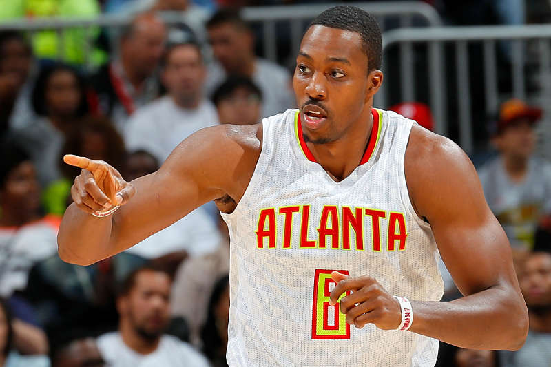 Dwight Howard, jugador de Atlanta Hawks