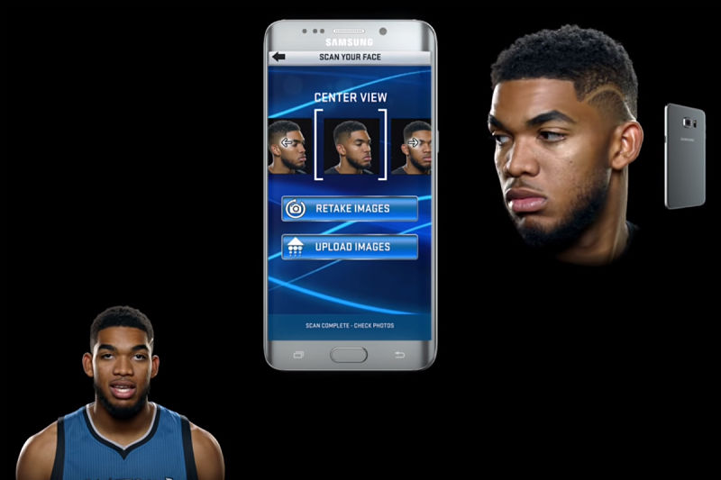 NBA 2K17 en el móvil