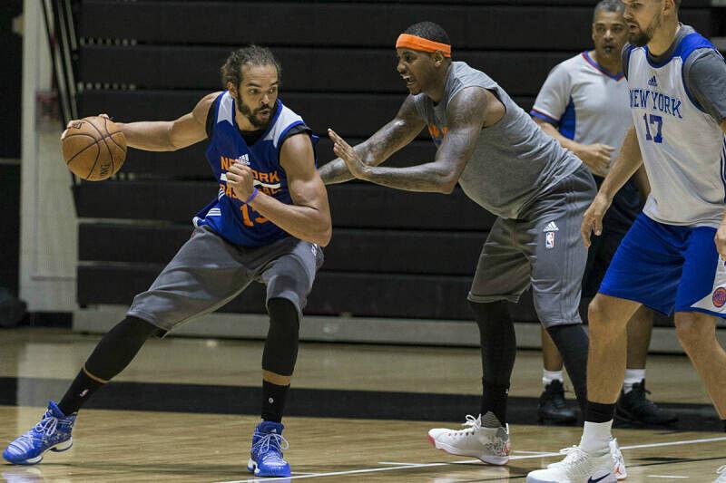 El training camp de New York Knicks