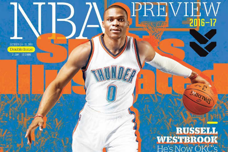 Russell Westbrook, portada de Sports Illustrated