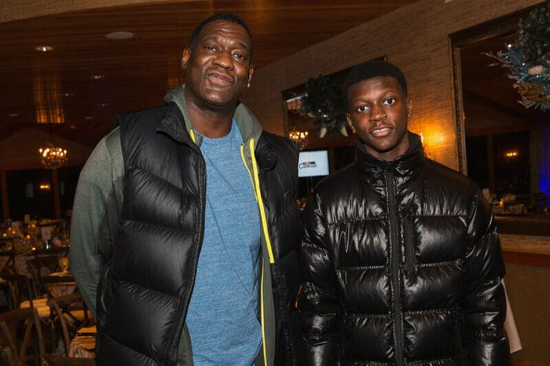 Shawn Kemp y su hijo