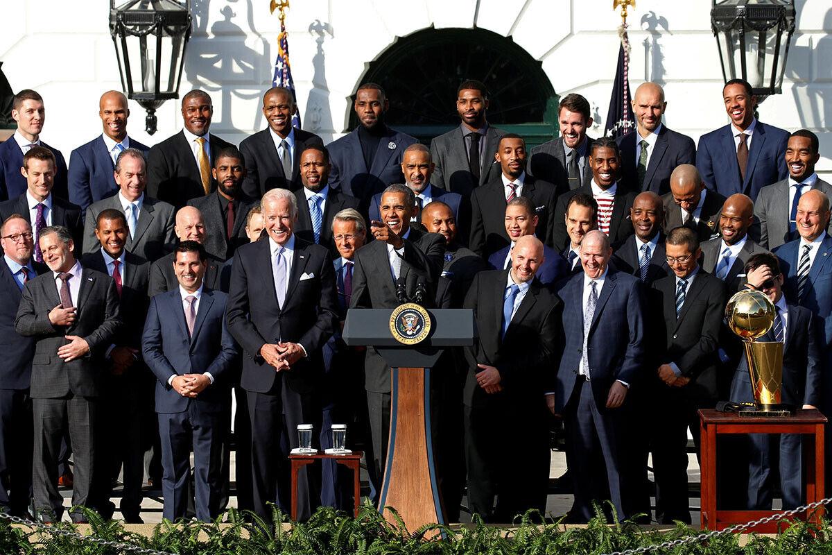 Cleveland Cavaliers, Barack Obama