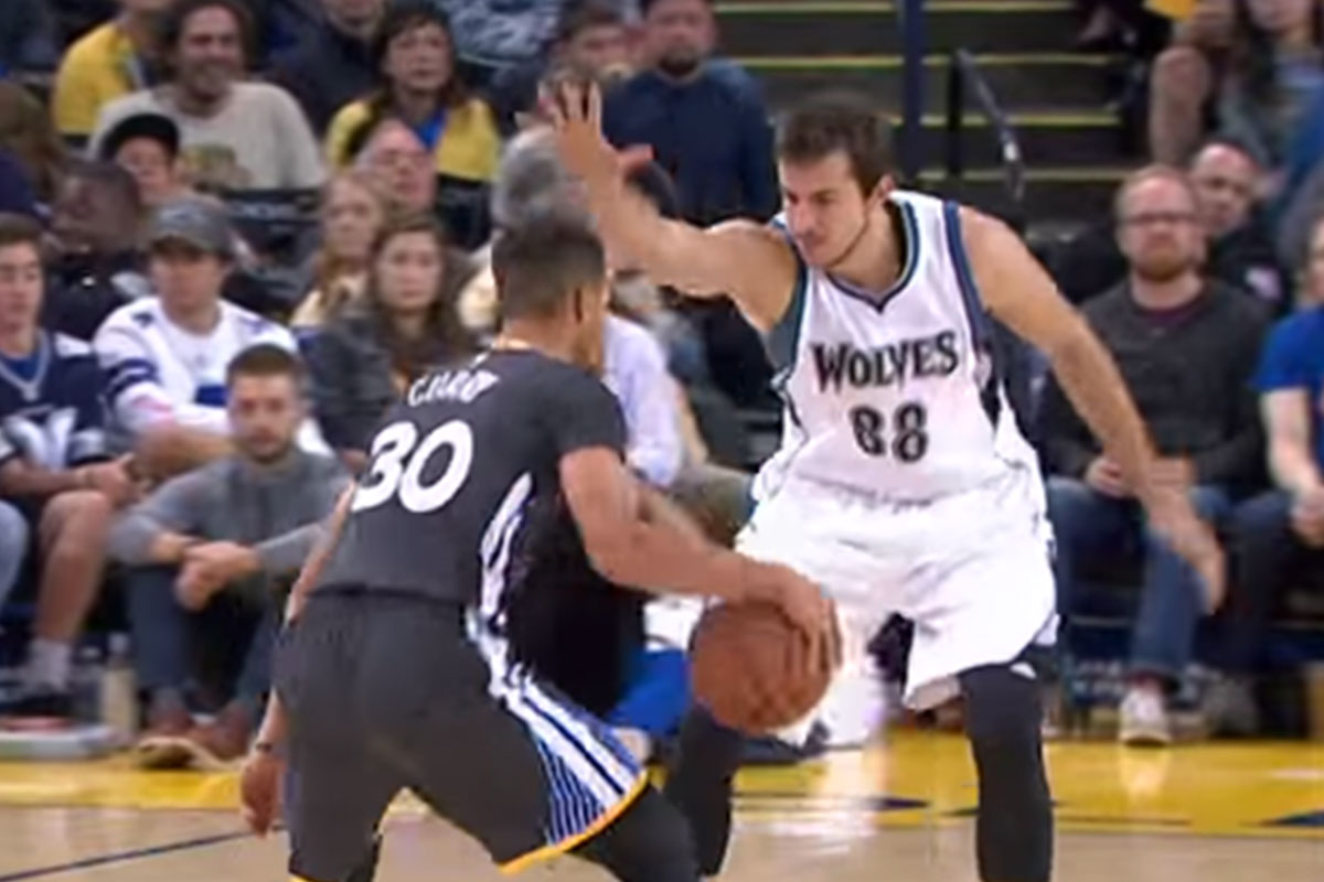 Stephen Curry, Nemanja Bjelica