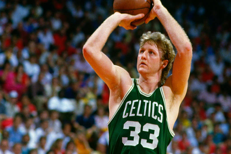Larry Bird, leyenda de la NBA