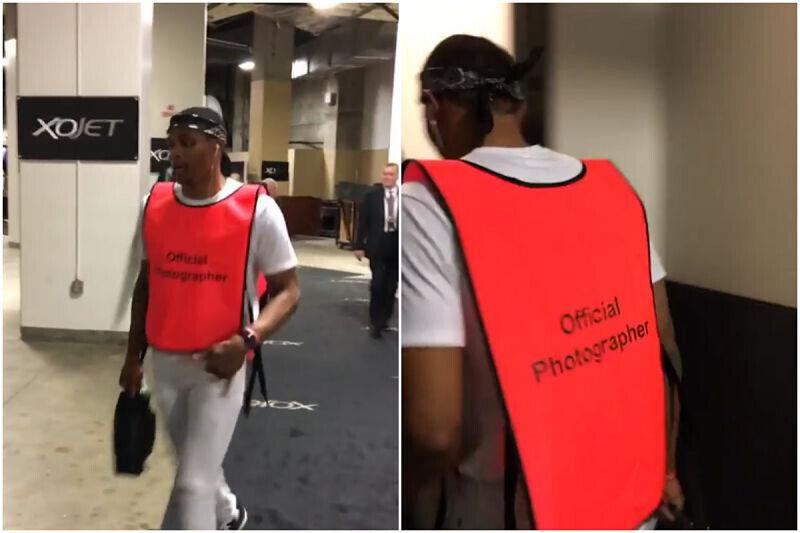 Russell Westbrook, jugador del Thunder