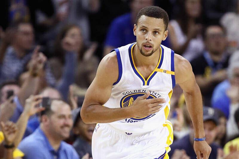 Stephen Curry, jugador de los Warriors
