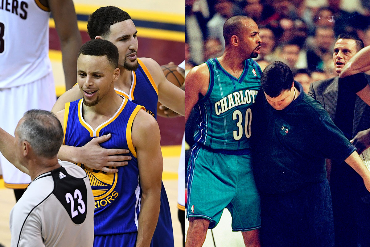 Stephen Curry y Dell Curry