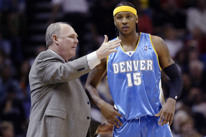 George Karl, Carmelo Anthony