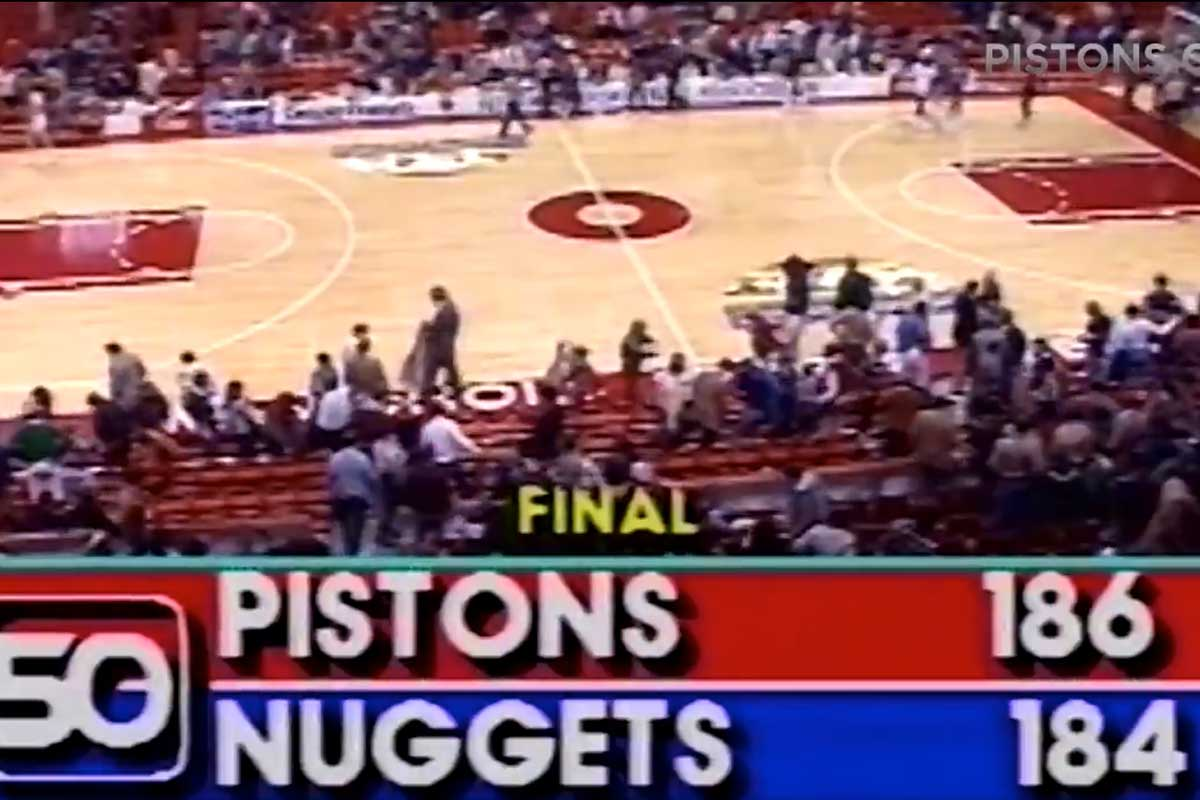 Detroit Pistons, Denver Nuggets