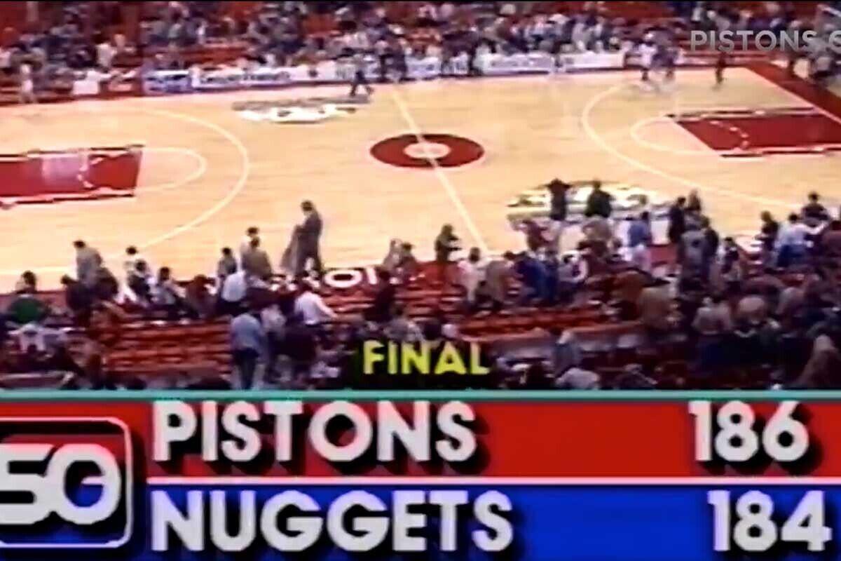 Detroit Pistons, Denver Nuggets