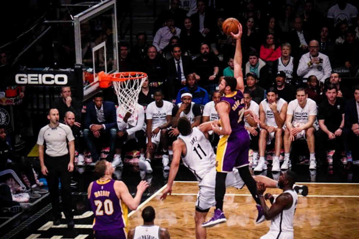 Larry Nance Jr, jugador de Los Angeles Lakers