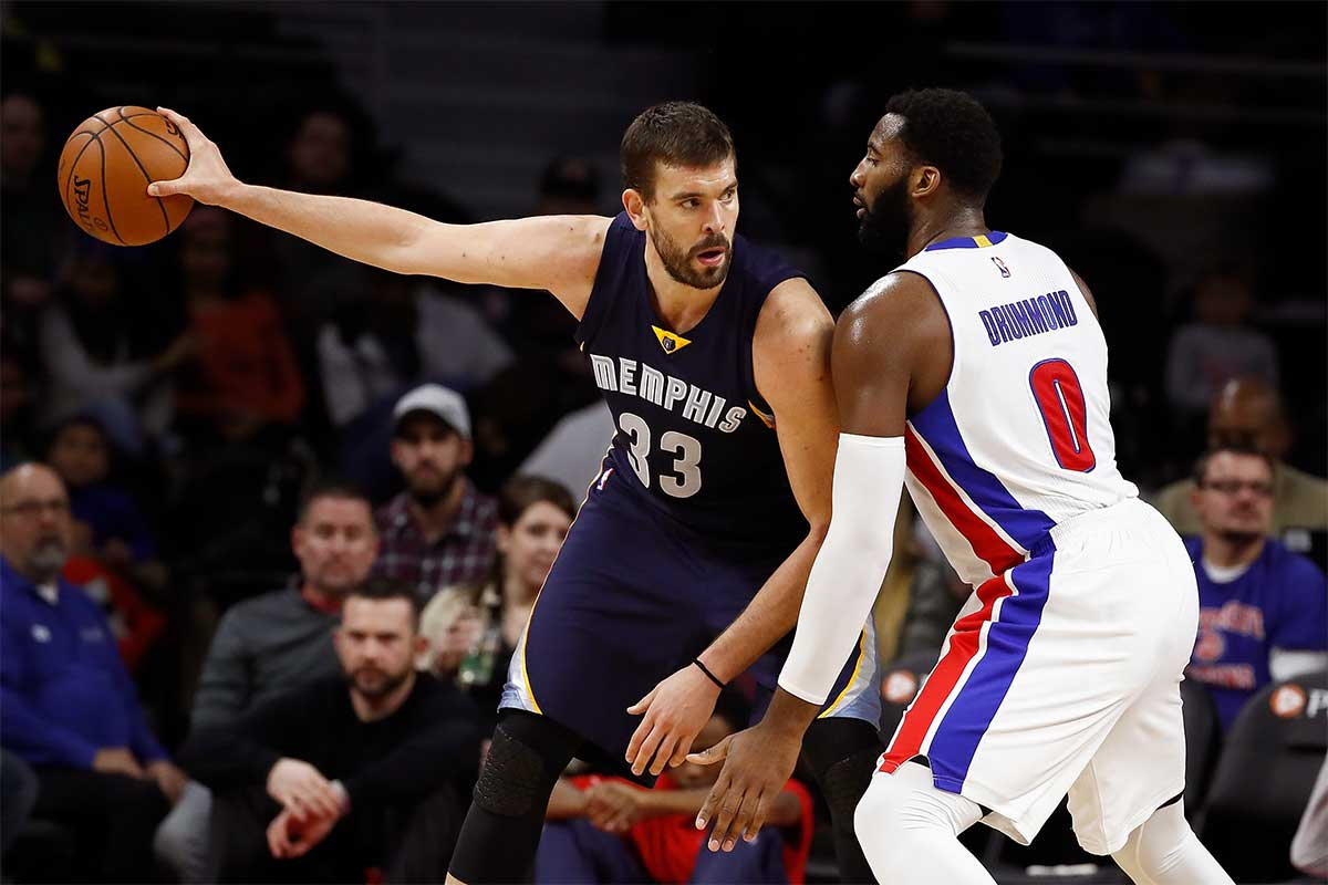 Marc Gasol, Andre Drummond