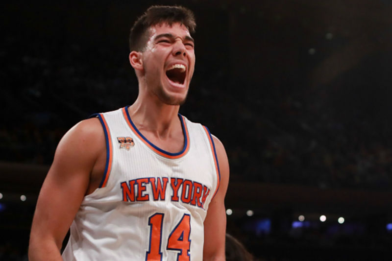 Willy Hernangómez, jugador de New York Knicks
