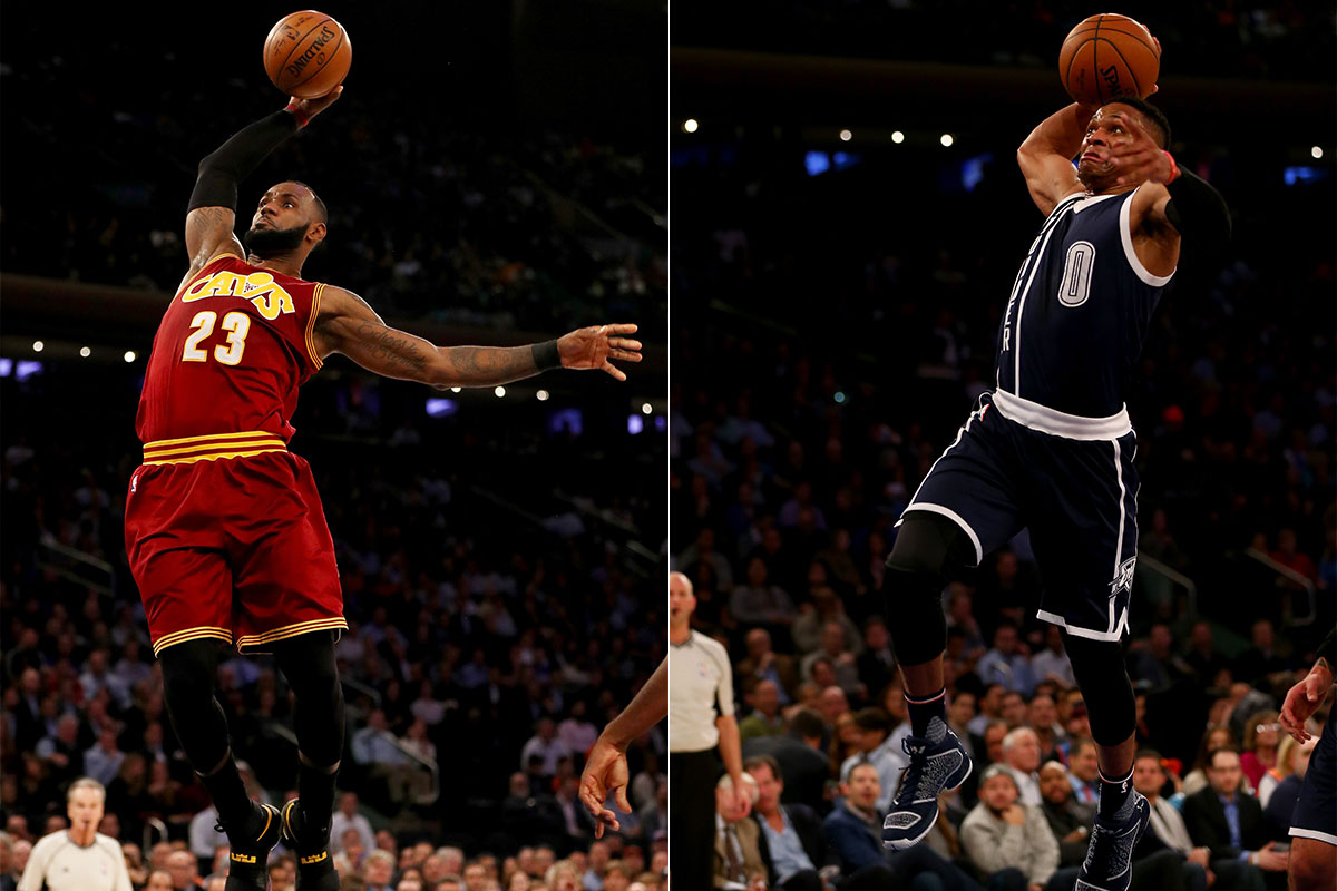 LeBron James, Russell Westbrook