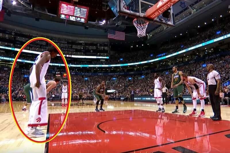 Imágenes de los NBA bloopers
