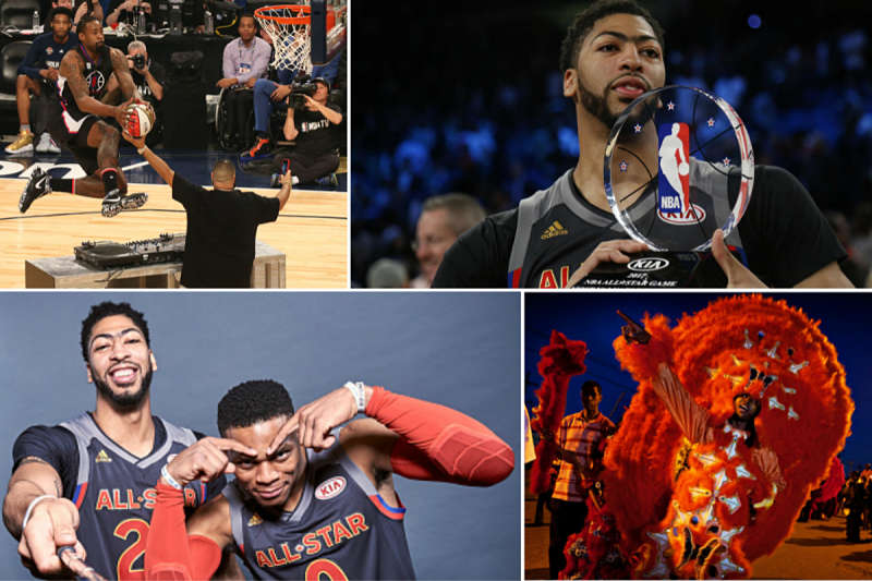 Imágenes del All-Star Weekend