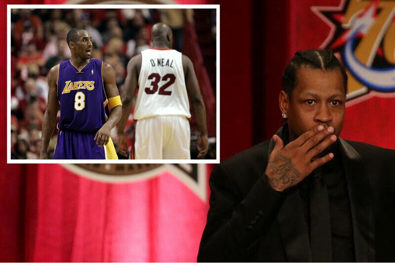Allen Iverson, Kobe Bryant, Shaquille O'Neal