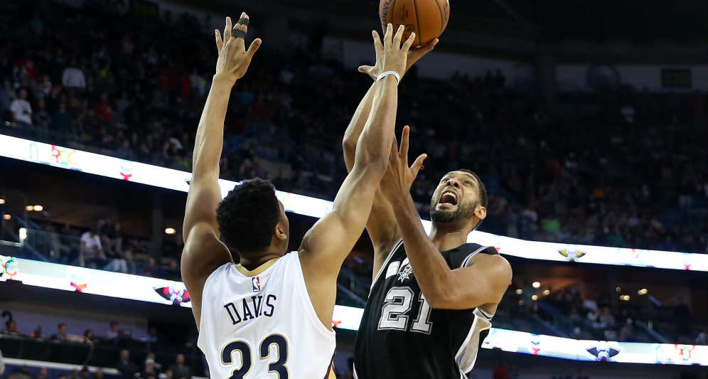 Anthony Davis, Tim Duncan