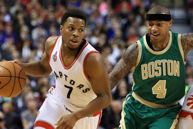 Un duelo entre Boston Celtics y Toronto Raptors