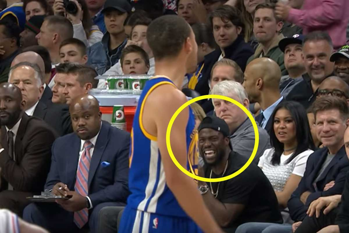 Stephen Curry, Kevin Hart