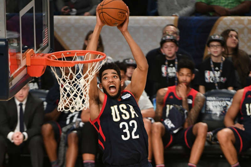 Karl-Anthony Towns, jugador NBA