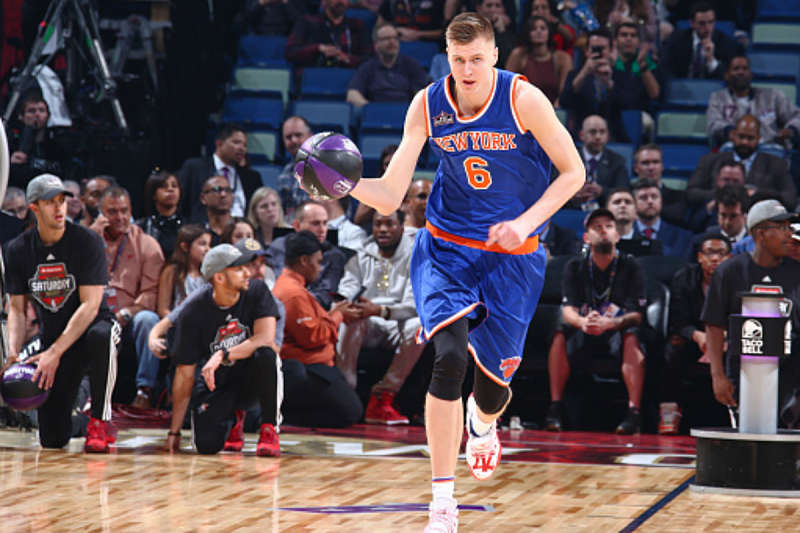 Kristaps Porzingis, jugador de NEw York Knicks