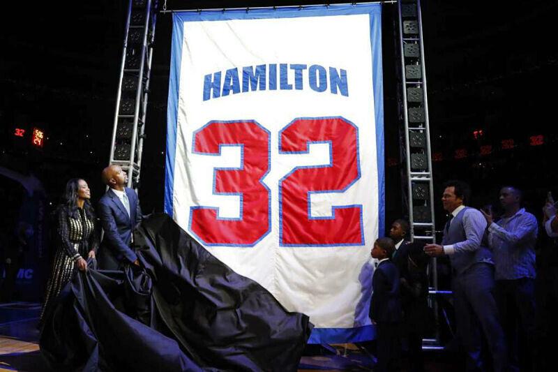 Richard Hamilton, leyenda de los Pistons