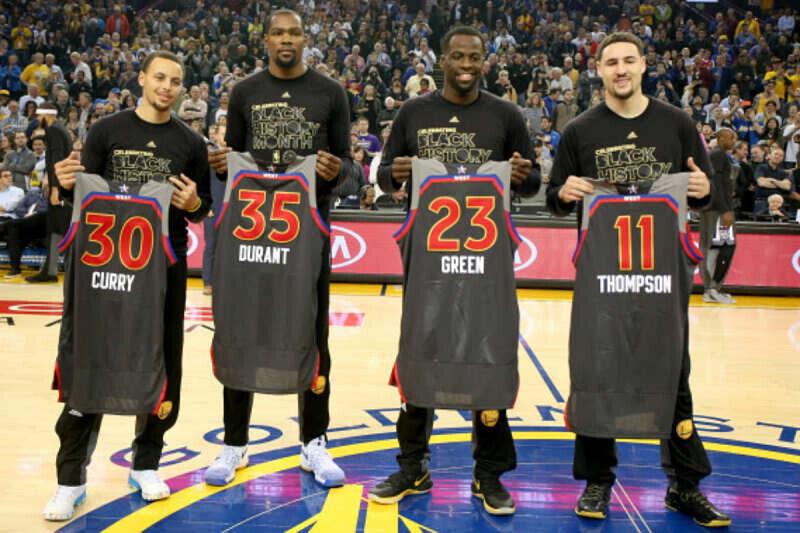 Estrellas de los Warriors en el All-Star Game
