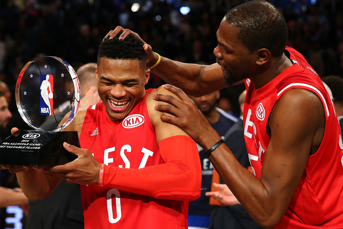 Kevin Durant, Russell Westbrook