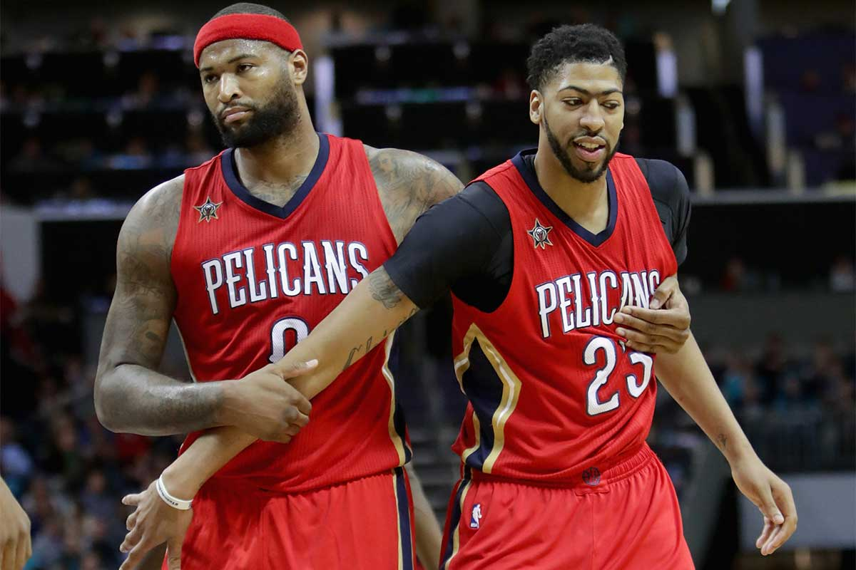 Anthony Davis, DeMarcus Cousins