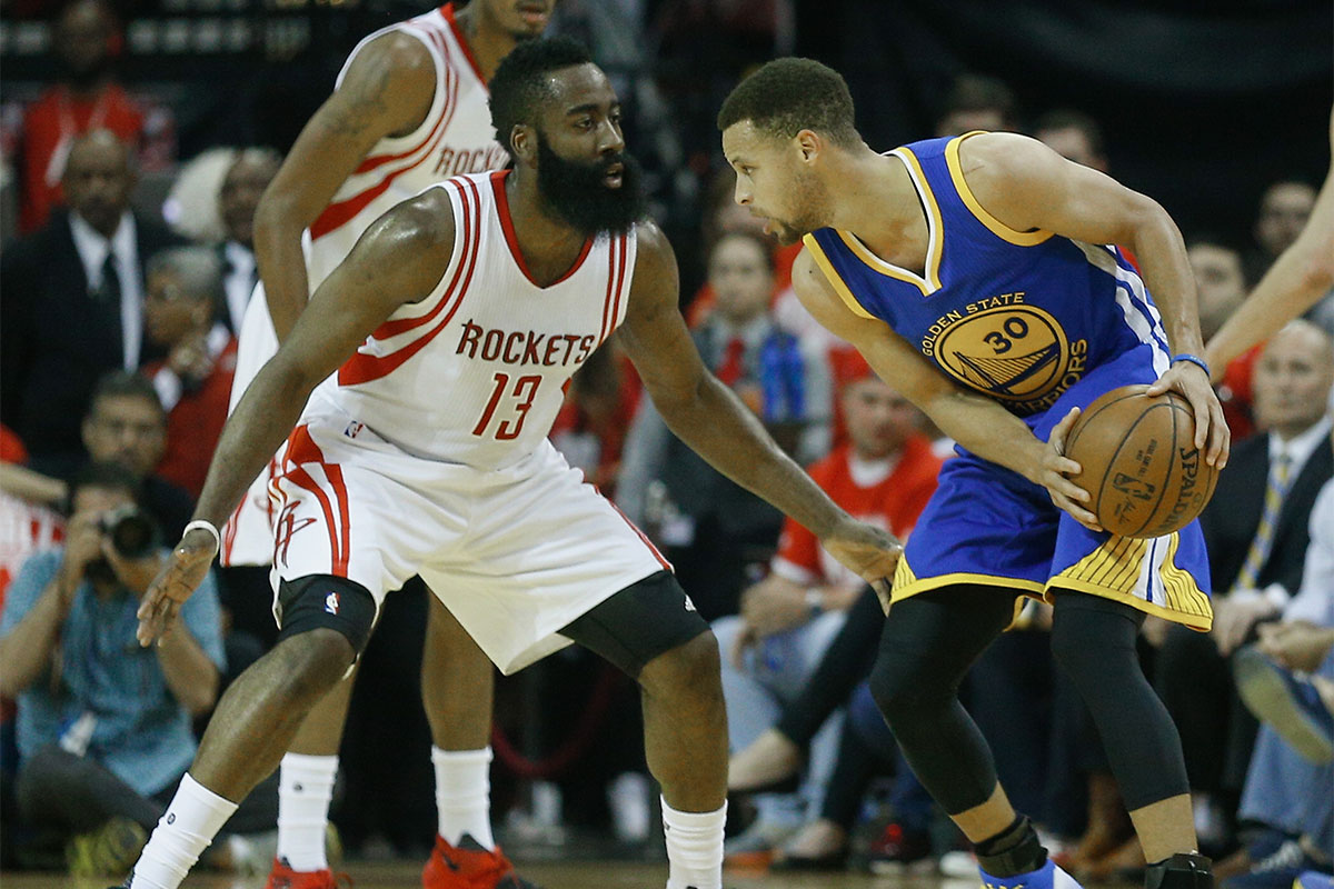James Harden, Stephen Curry