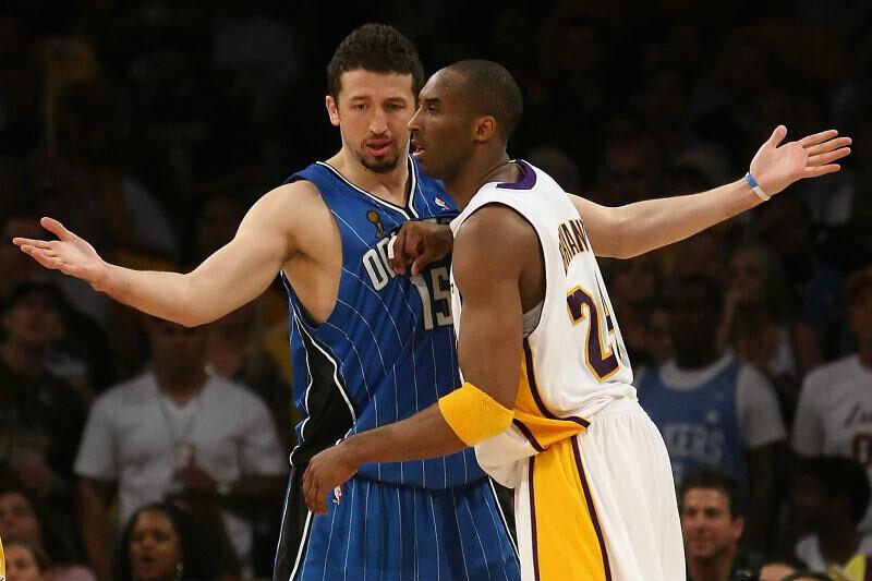 Hedo Turkoglu, Kobe Bryant
