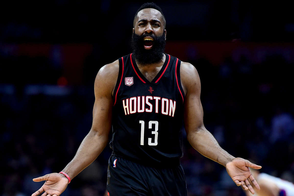 James Harden, jugador de la NBA