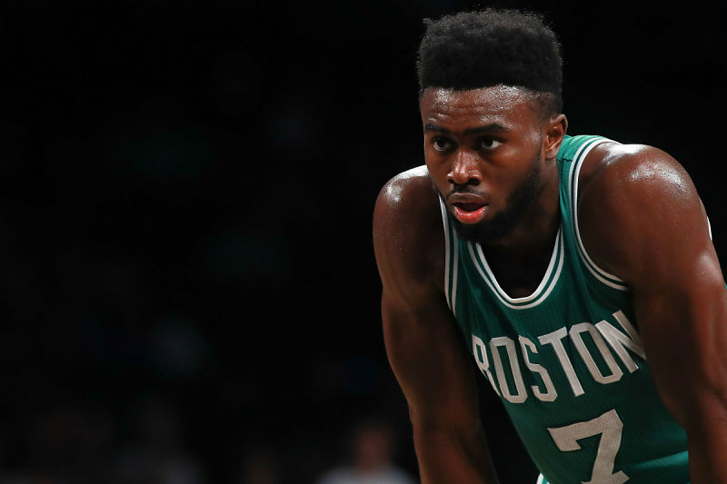 Jaylen Brown, jugador de Boston Celtics