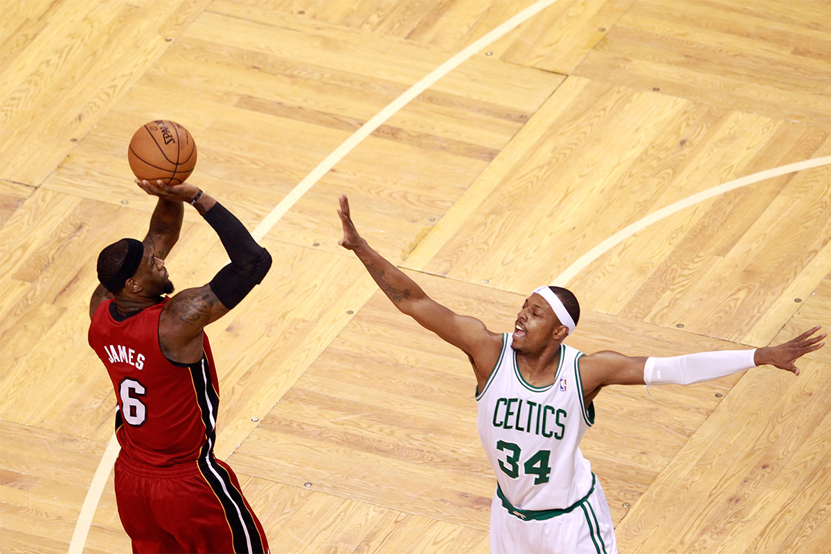 LeBron James, Paul Pierce