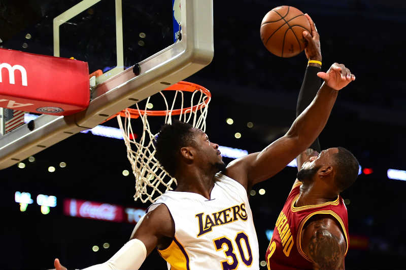 Los Angeles Lakers, Cleveland Cavaliers