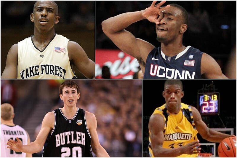 Las estrellas de la NBA pasaron por la NCAA